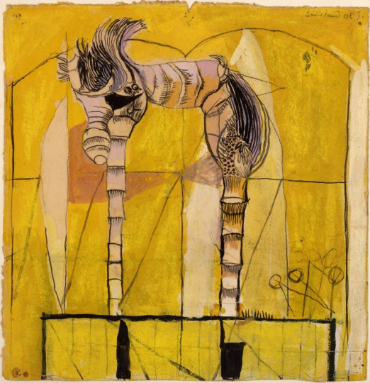 STANDING FORMS, YELLOW BACKGROUND