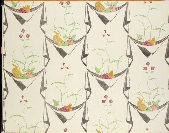 WALLPAPER 'NAPKIN AND LILY'