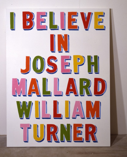 I BELIEVE IN JOSEPH MALLARD WILLIAM TURNER