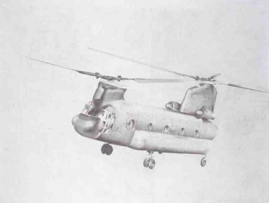 CHINOOK DRAWING