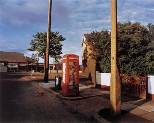 GRAFFITI ON PHONEBOX, BELFAST