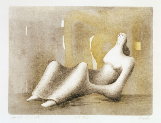 RECLINING FIGURE: DAWN