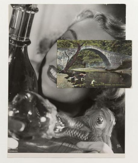 Stezaker John MASK (Film Portrait Collage) CLXXXII - P8593