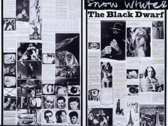 B - SNOW WHITE AND THE BLACK DWARF