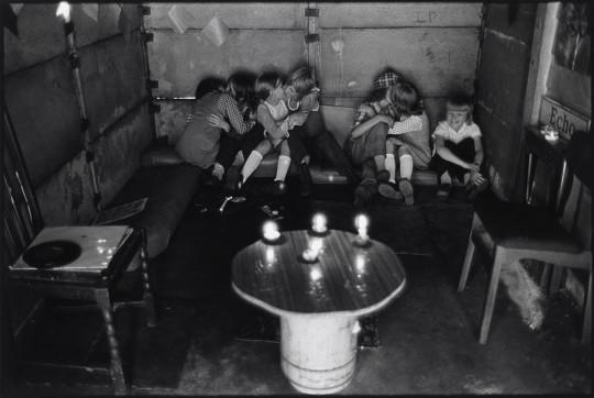 KIDS' DEN IN GARAGE, MOZART STREET,  GRANBY, LIVERPOOL 8