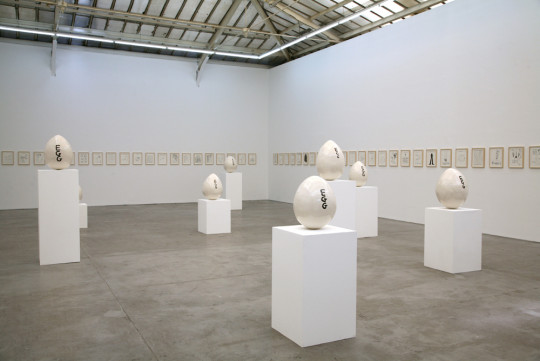 David Shrigley, Eggs, 2011