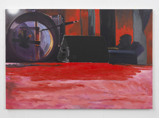 Dexter Dalwood 'Roundhouse' 2014