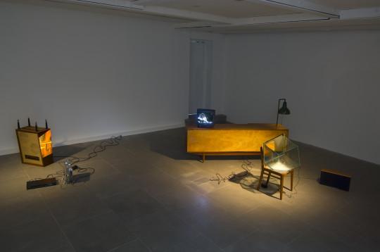 Adhān, 2008, installation view.