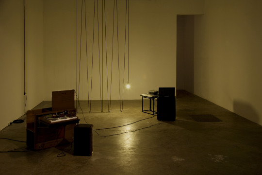 Paradise Loft, 2009 featuring MW' by Giles Round, installation view.