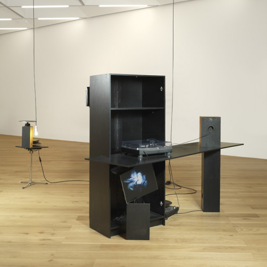 Regaining a Degree of Control, 2010, installation view.