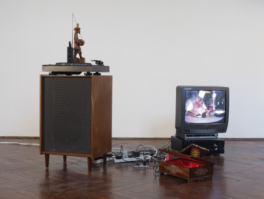Taka Tak, 2008, installation view.