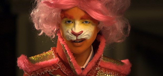 Still from The Lion and the Unicorn (2012) by Rachel Maclean