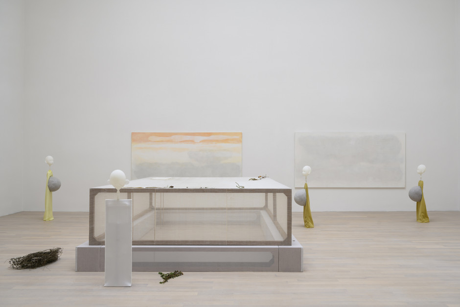 Cathy Wilkes  Untitled, 2019 Mixed Media Dimensions variable Installation view, Cathy Wilkes, British Pavilion, Biennale Arte, Venice, 2019.